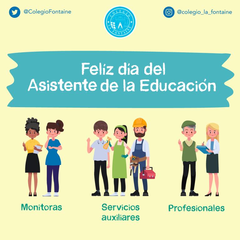 celebración día asistente de la educación